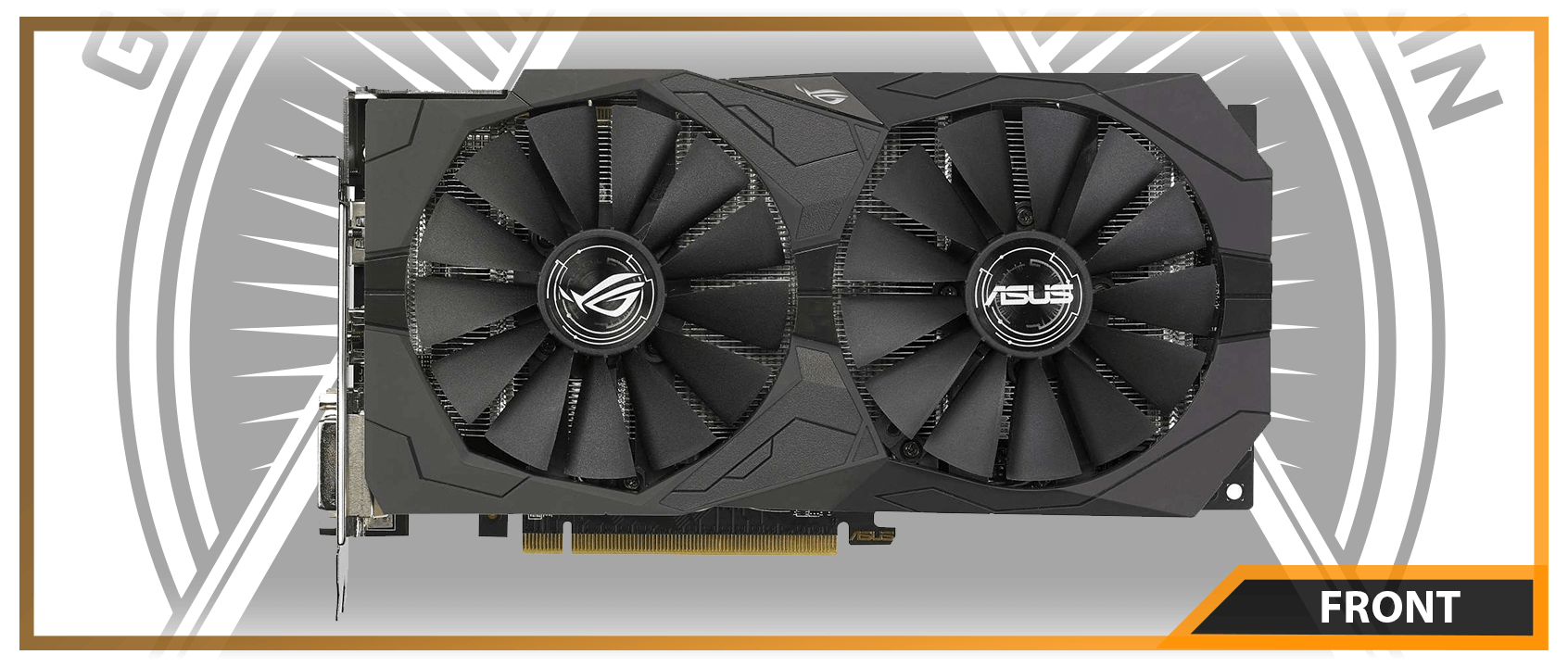 ASUS ROG STRIX RX 570 GAMING OC 8 GB